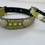 Heart and Cystal Collars with Swarovski Crystals