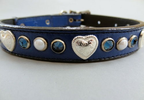 Heart and Pearl Collars