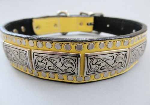 K9 The Barbarian Squares Collars