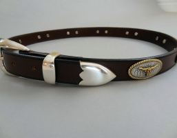 No Bull Brown Italian Leather Belts