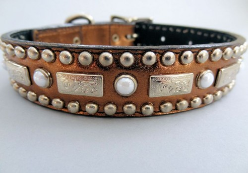Square Pearl Collars