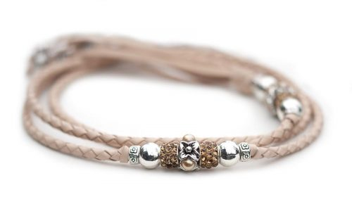 Kangaroo leather show lead in natural 1