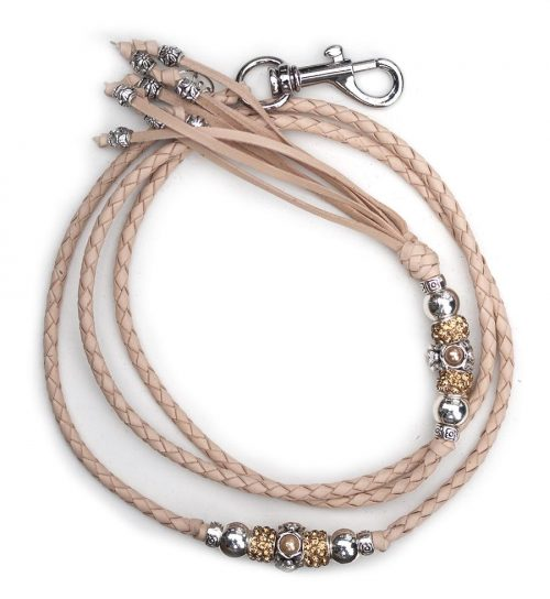 Kangaroo leather show lead in natural 2